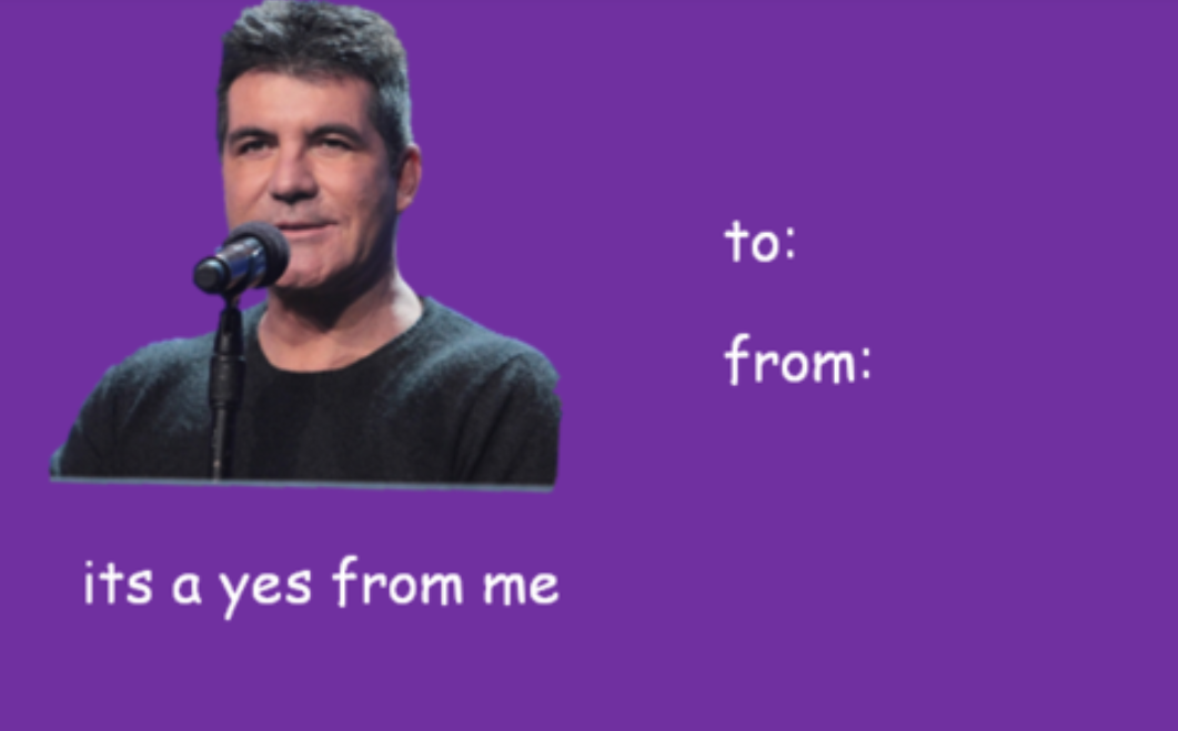 Valentines day tumblr cards