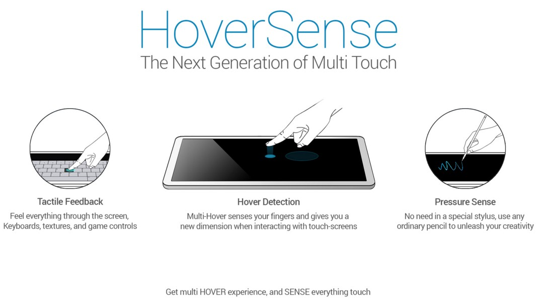 A new touch technology for Foldables and Dual-screen devices.