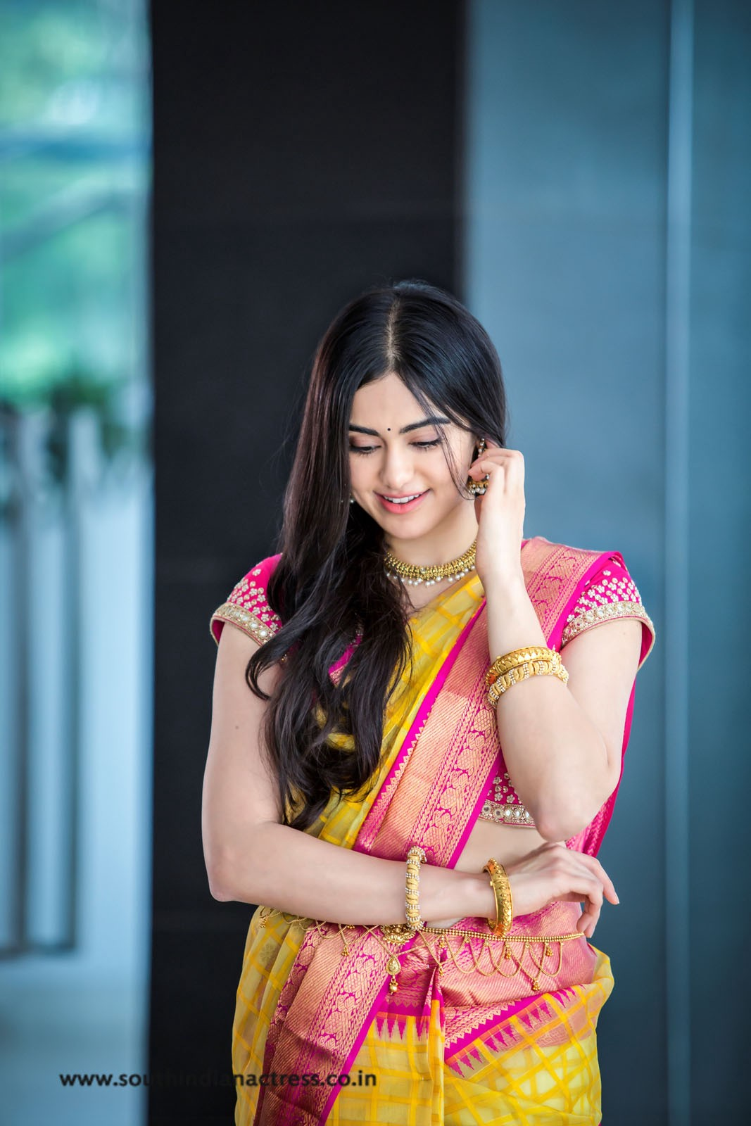 adah sharma photoshoot for saree niketan – southindianactress.co.in
