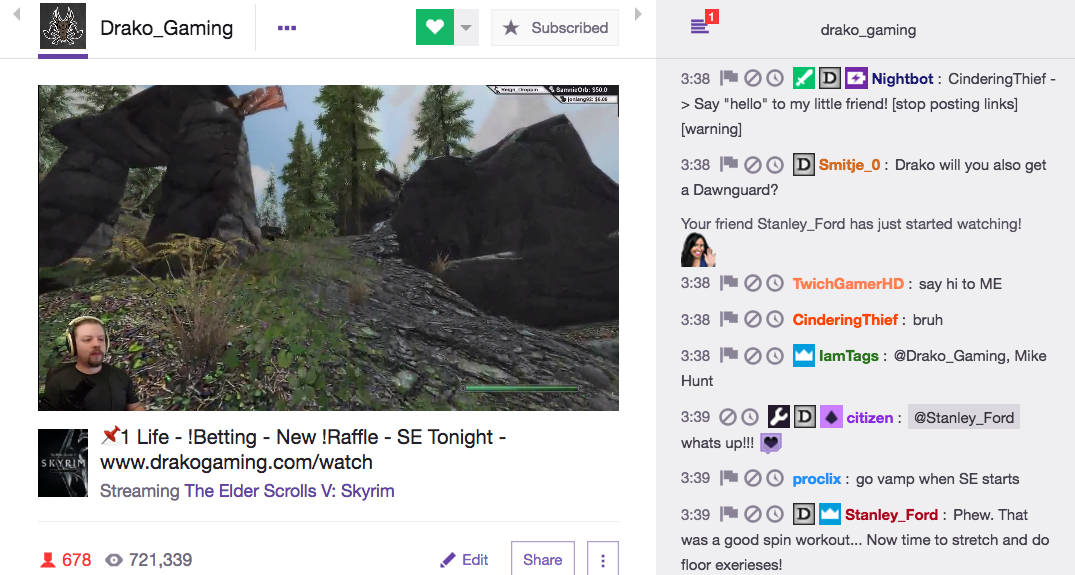 Activity Sharing comes to Twitch Chat! \u2013 Twitch Blog