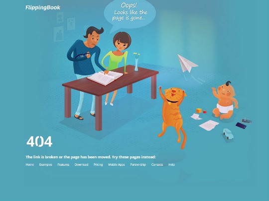 10 great examples of 404 error pages – UX Planet