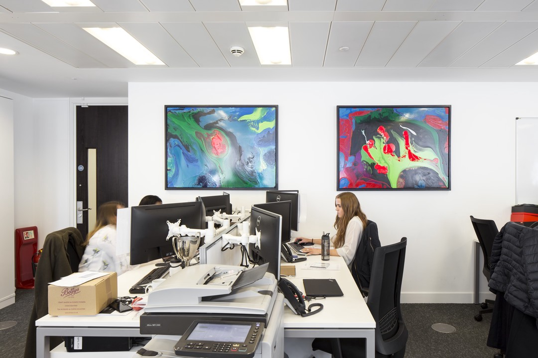 Nice Photo Credit: Art In Offices Provide Artwork For Mobeus Equity Partners.