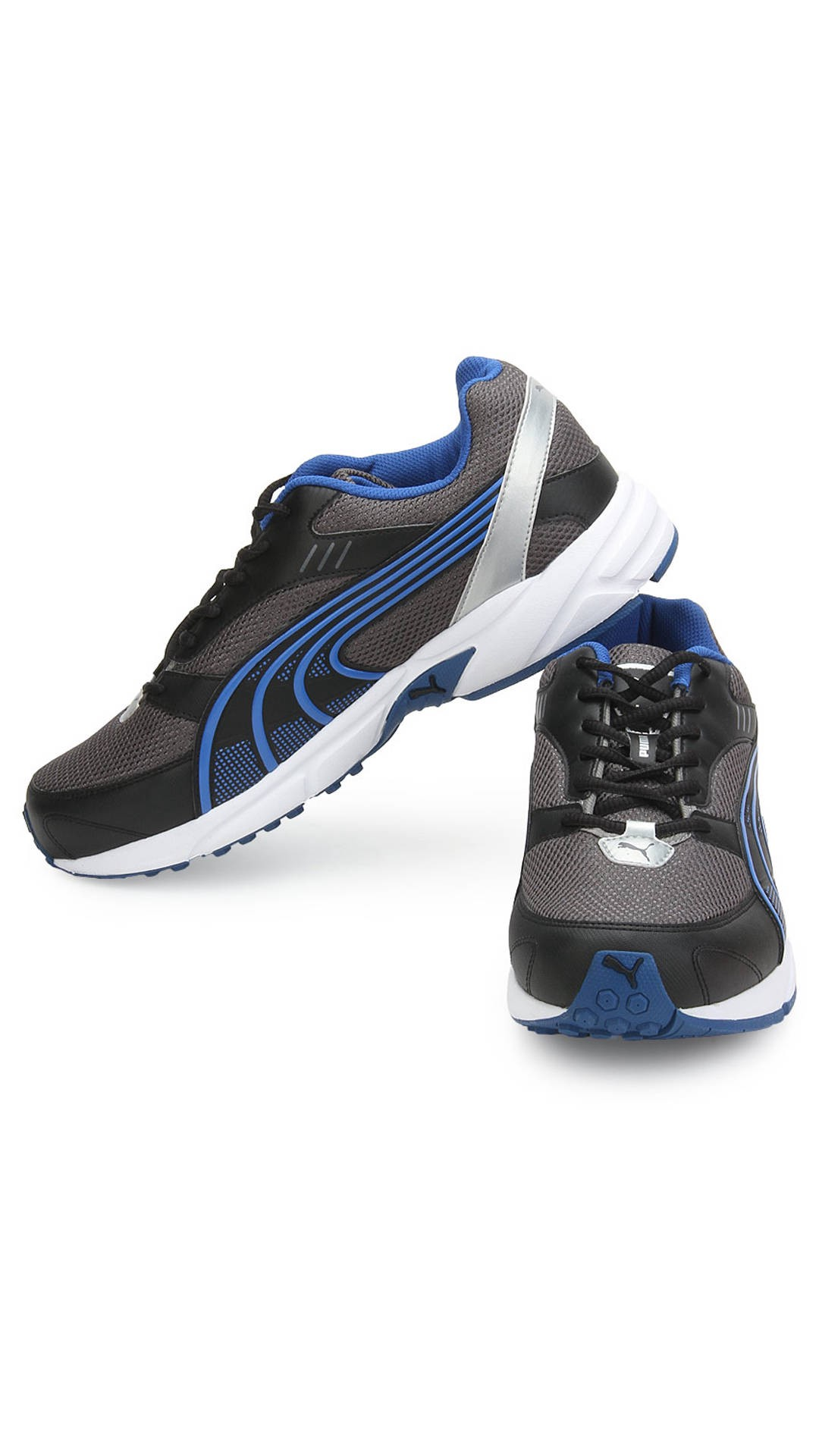 d92289fdf19c ... sale retailer df8ef c9a80 Buy puma black and blue sports shoes only in  1299 rs ...