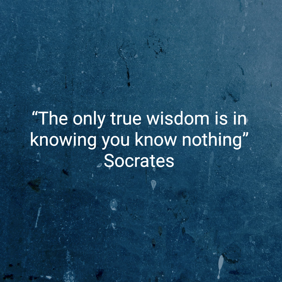 what did socrates mean when he said u201cthe only true wisdom is in rh medium com