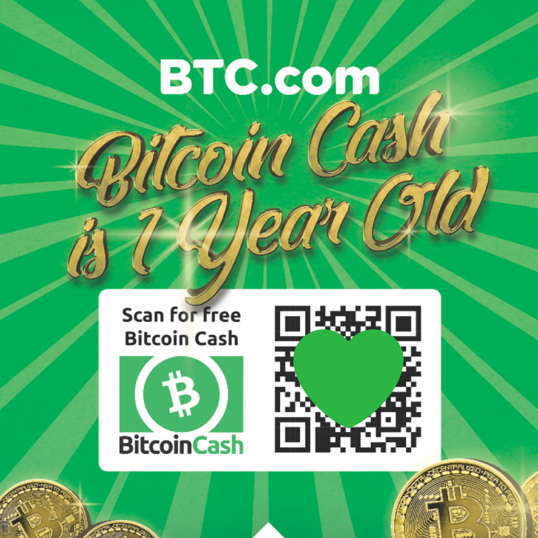 BTC Is Celebrating The Anniversary Of Creation Bitcoin Cash By Organizing An International Airdrop On 1st August