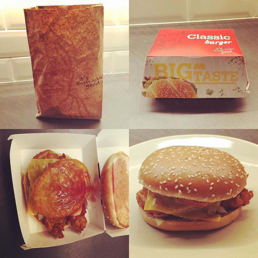 Day 4: The Colonel\'s Christmas Burger from KFC – Noel St Pudding ...