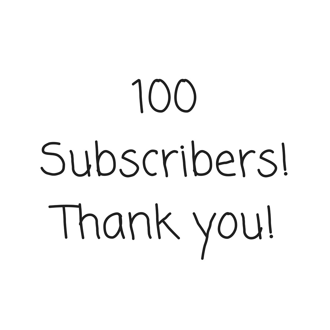 Letter   Subscribers Thank You   Naked Words  Medium