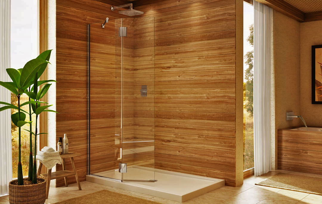 What Is The Min Width For A Swinging Glass Shower Door In La