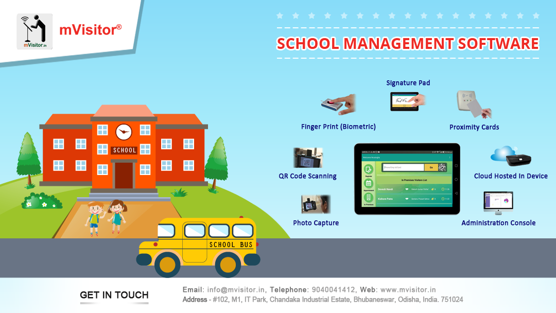 School Management Software Ensures Your Childs Safety At School