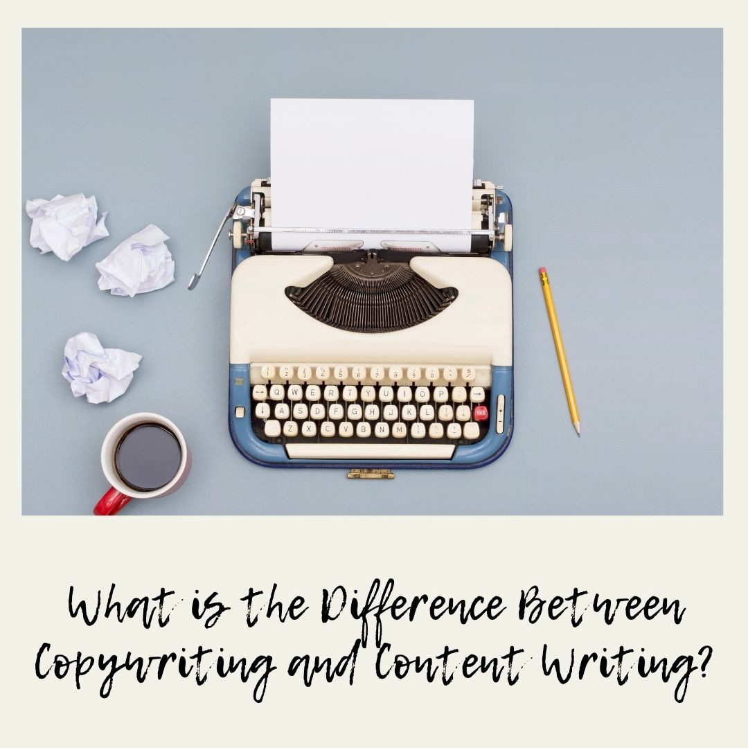 What is the Difference Between Copywriting and Content Writing?