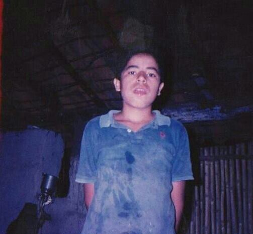 Jose Amaya at 12, growing up in El Salvador