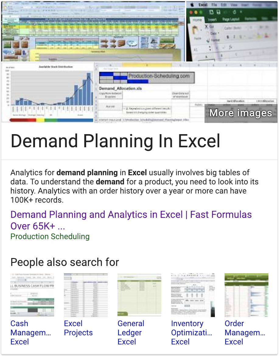 What is the most popular demand planning software?
