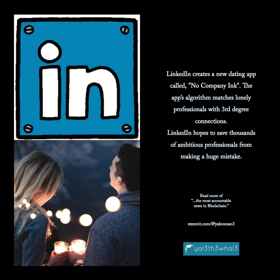 Dating app with linkedin