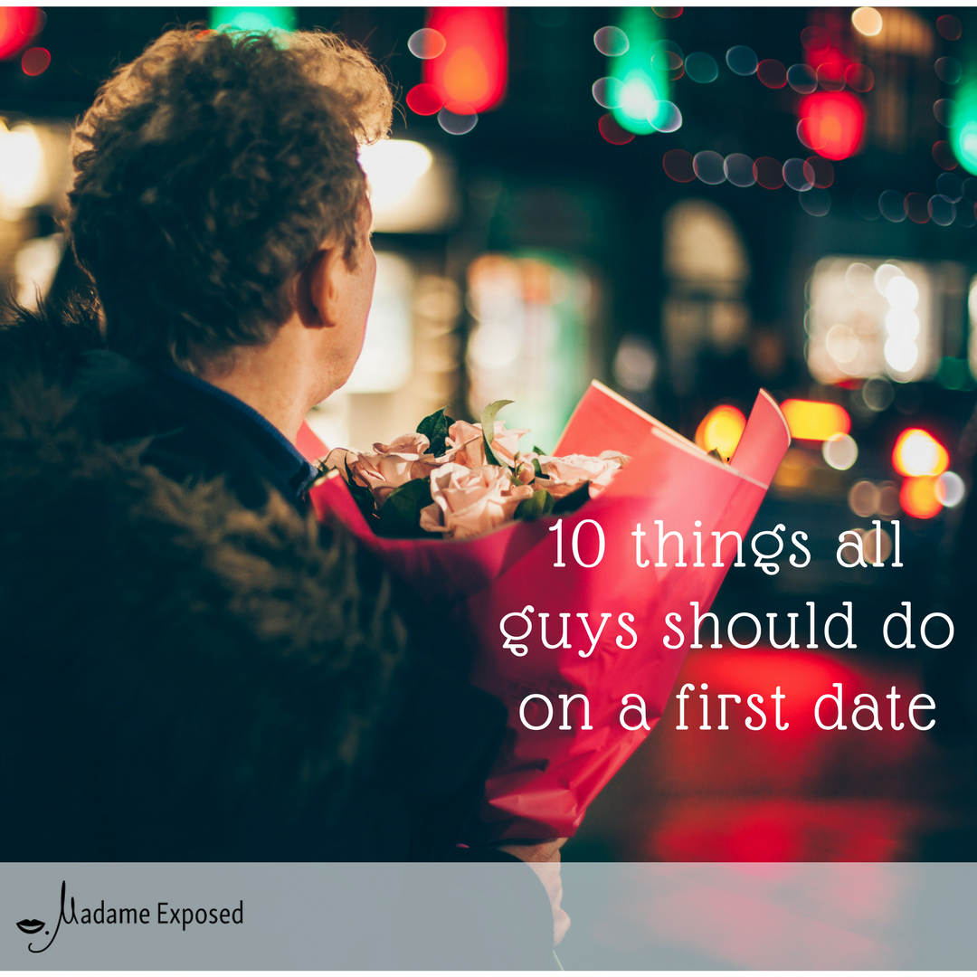 how to go on a date with a guy