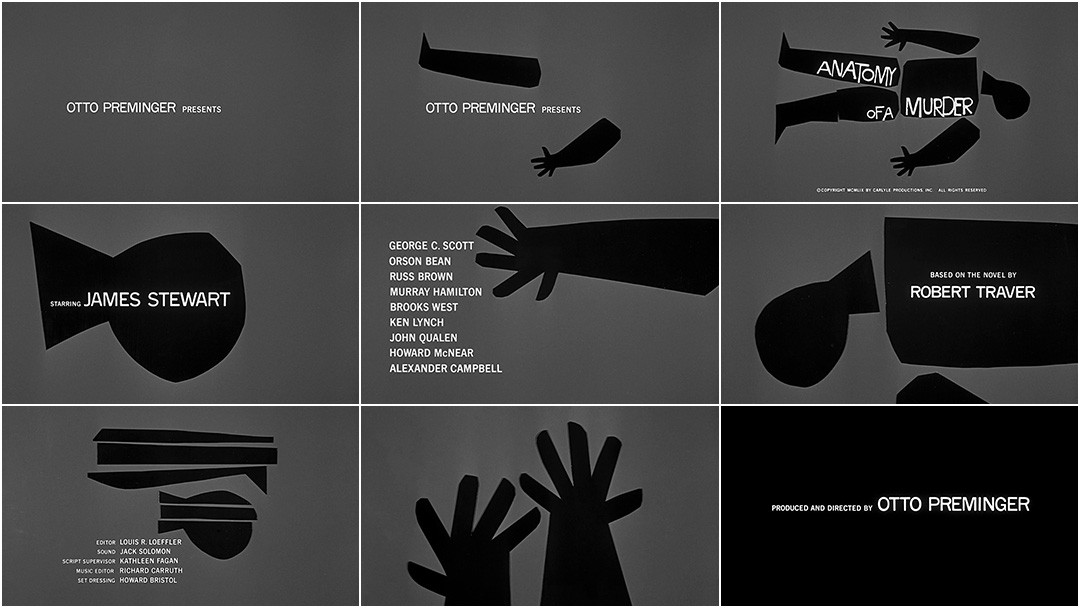 Saul Bass Anatomy Of A Murder Fgd1 The Archive Medium