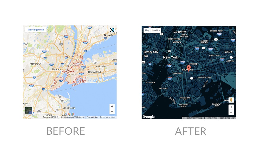How To Create A Custom Google Map Using Snazzy Maps - I have a map