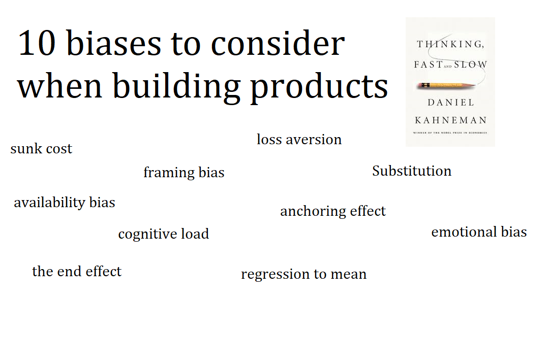 10 biases/concepts to consider when building products from ...
