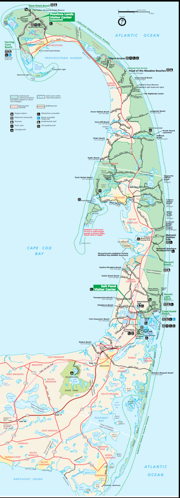 Best beaches for running in new england great runs cape cod national seashore beaches geenschuldenfo Image collections