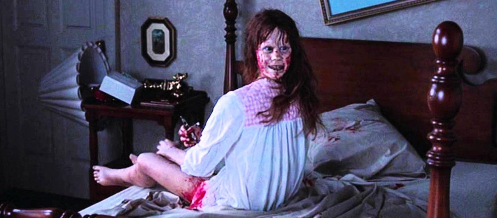 great scene the exorcist go into the story