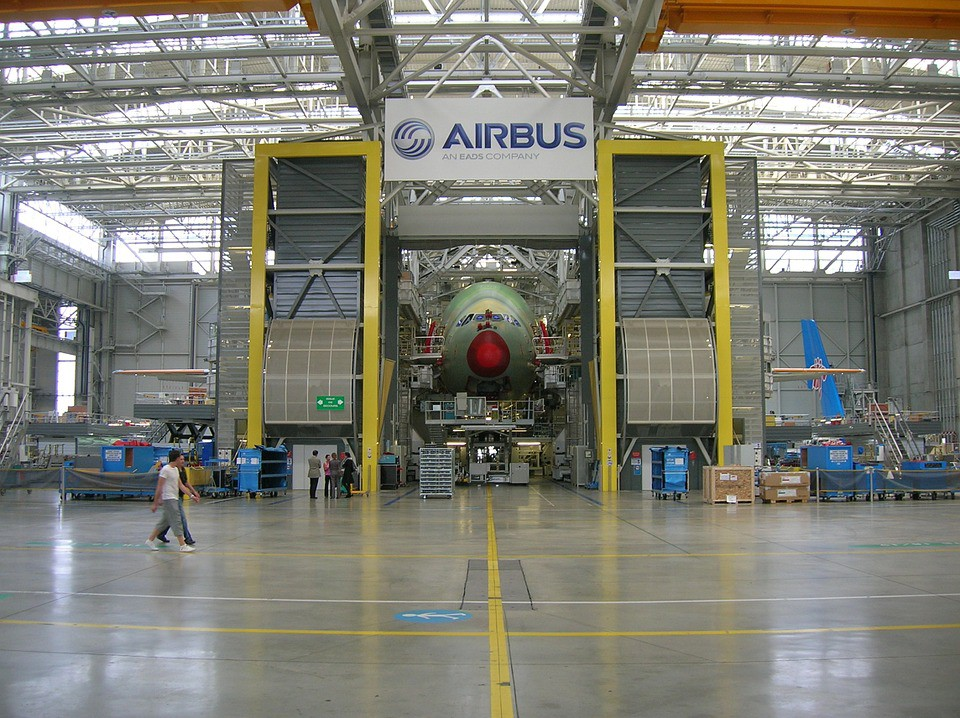 Airbus uses additive manufacturing for its aircraft