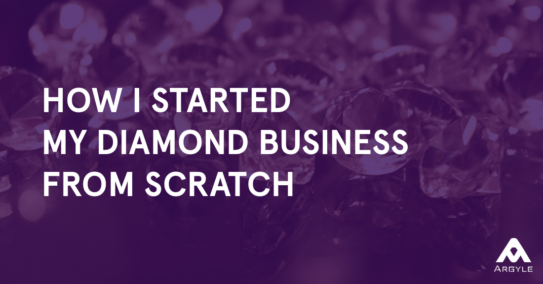 how i started a real diamond business with just 1 000