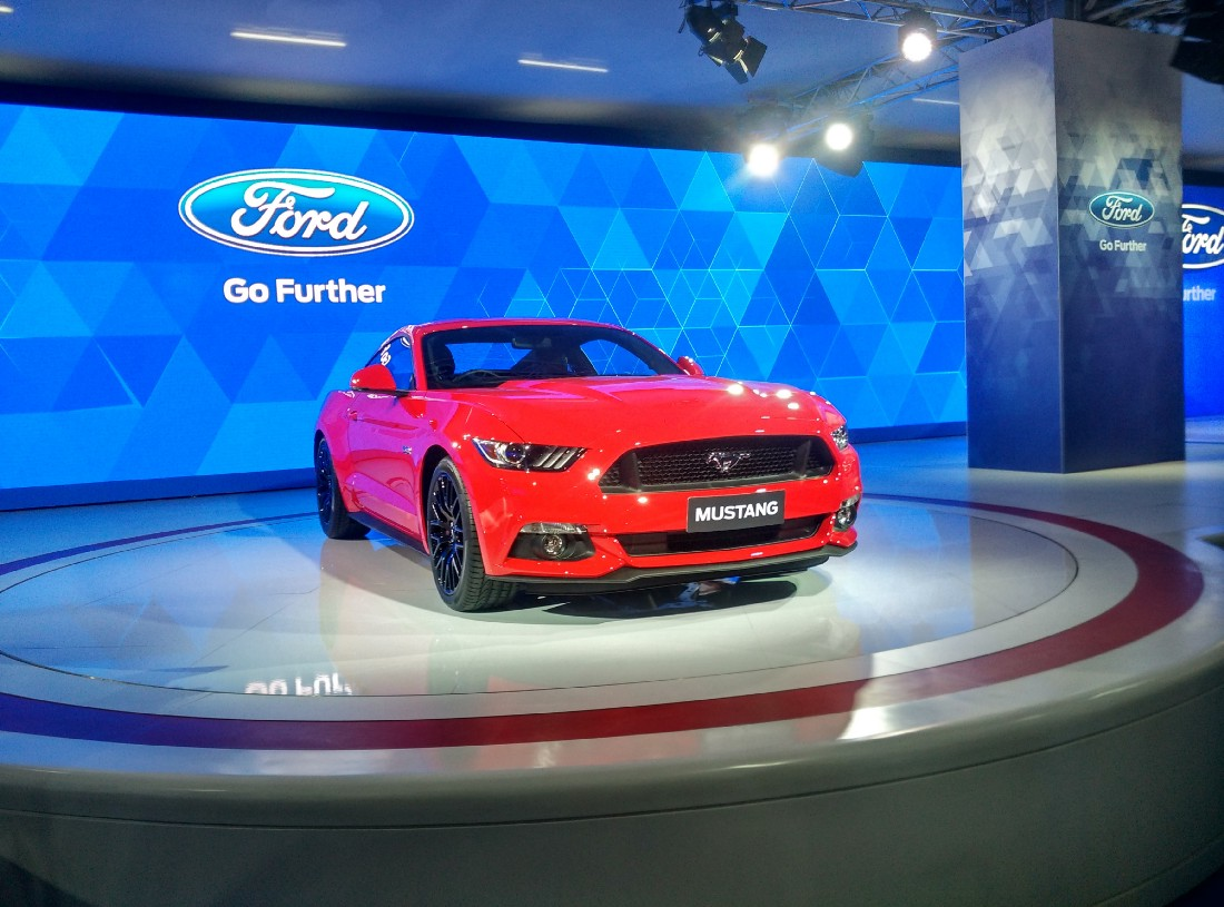 Ford (Image Courtesy: Ford Mustang From Wiki Commons by Eatch Licensed under CC-BY 4.0)