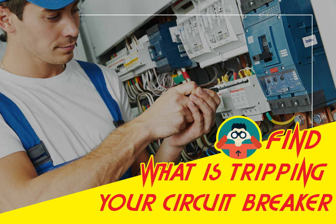 How To Find What Is Tripping Your Circuit Breaker Adam Rusin Step 1 Turn Off Power At