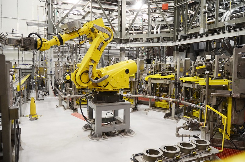 Robotic Arm Used by PEO ACWA to handle chemicals