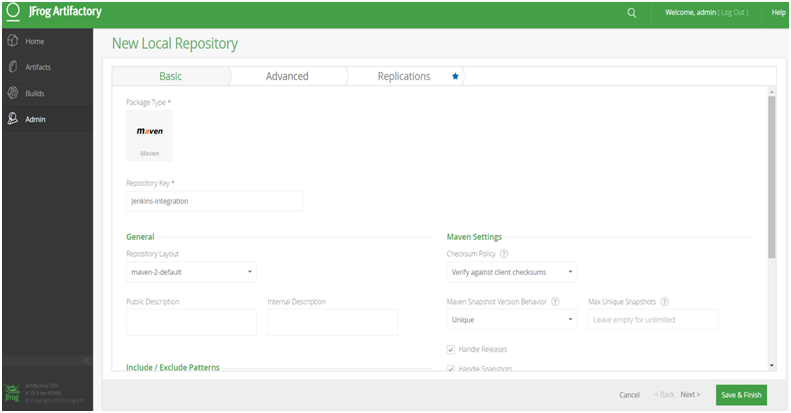 Download and configure JFrog Artifactory - Windows -