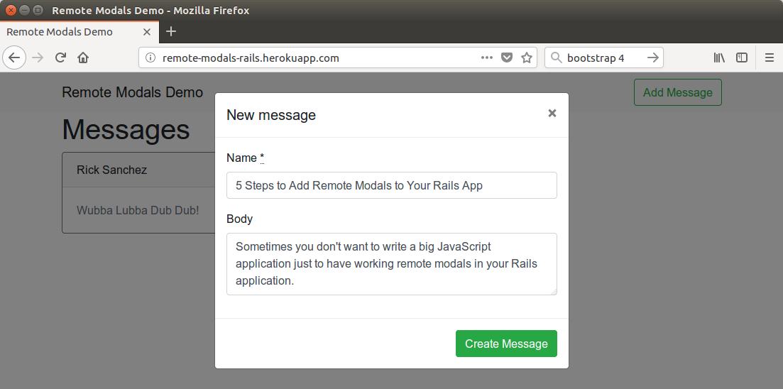 5 Steps to Add Remote Modals to Your Rails App – JTWay