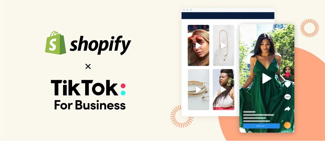 Shopify and TikTok Partnership to Integrate and Fuel E-Commerce Activity