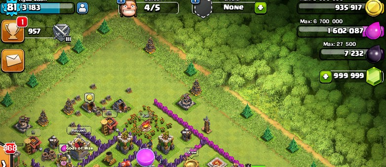 clash of clans hack gems gold and elixir cheats
