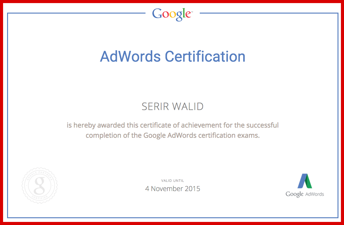 My posts about google adwords certification and how easily you my posts about google adwords certification and how easily you can get google adwords certificate 1betcityfo Images