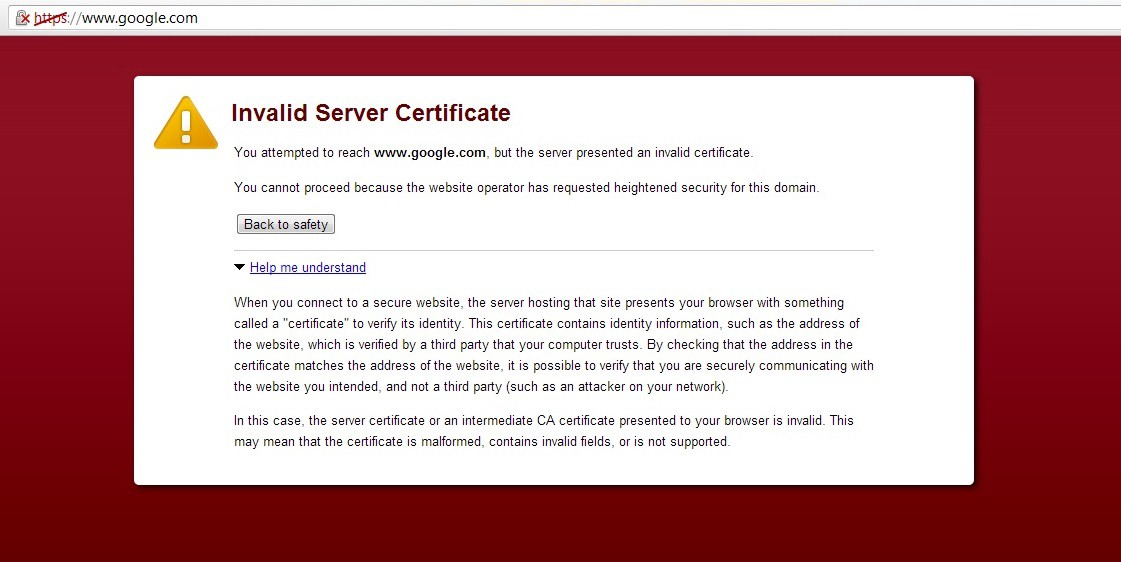 How To Fix Invalid Server Certificate Or Invalid Client Certificate