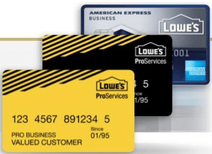 Lowe S Business Credit Is Offered For Owners Who Want To Develop Their Wider And Ger Than Before