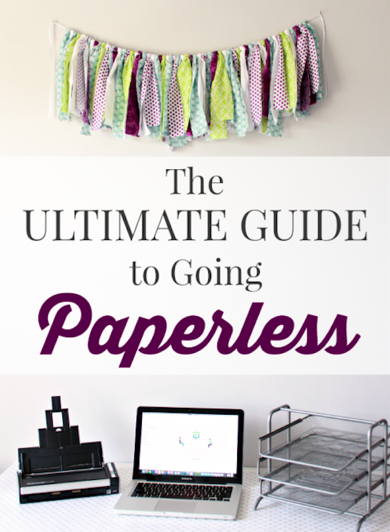The Ultimate Guide to Going Paperless