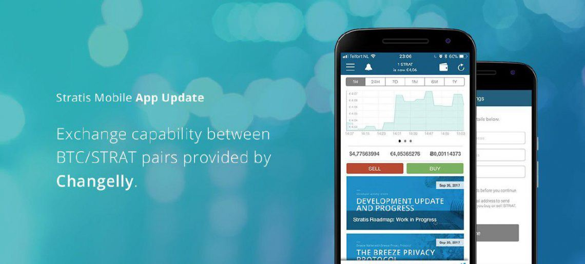 We couldn't be happier to announce our integration with the official  Stratis app! From now on, you can buy and sell STRAT in a few clicks with  Changelly ...