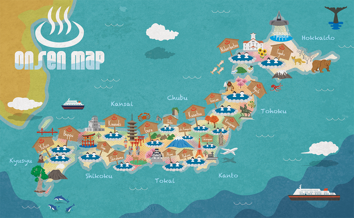 Japan Onsen Map the Guide to Japanese Hot Springs JW Web Magazine