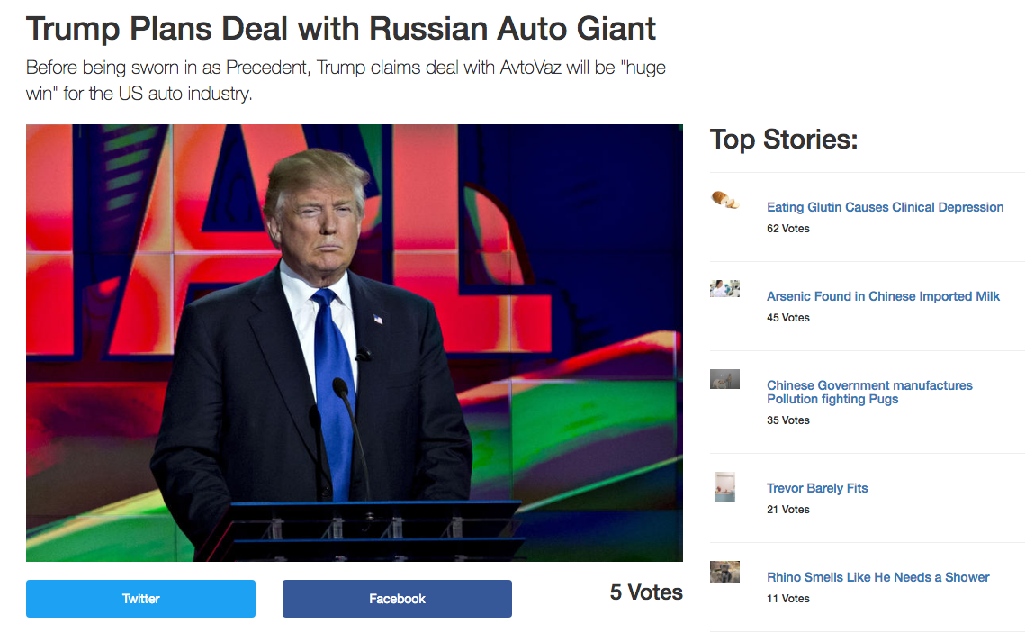 I built a fake news site. This is what I learned. – ART + marketing