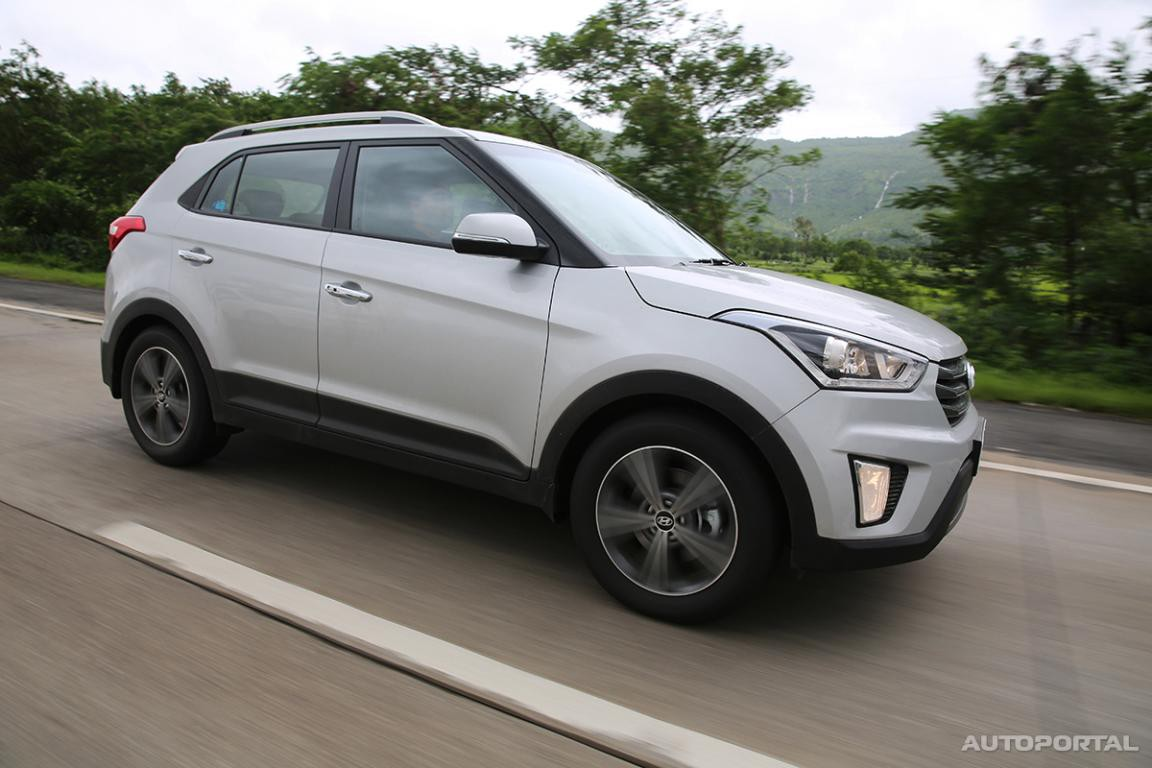 Hyundai Creta Price In India Photos Review Autoportalcom Chrome Wheels The Gets Sharp Edges And Curves A Minor Side Cladding Around Whole Structure Front Huge Three Lined Grill With Totally New