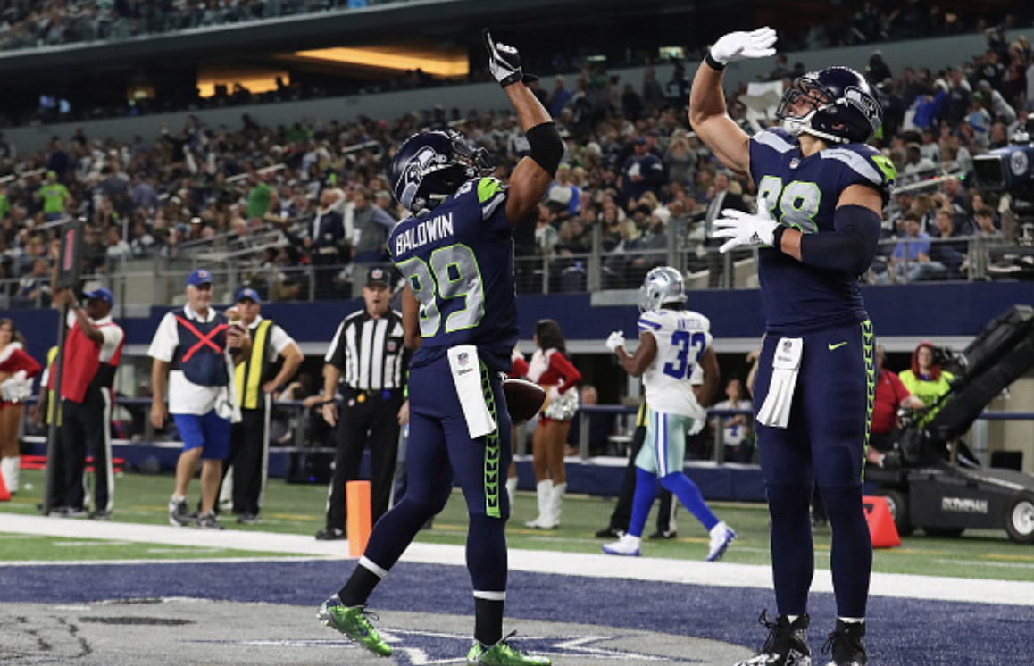 sports shoes dfd61 f9d60 Doug Baldwin's numbers without Jimmy Graham are quite impressive