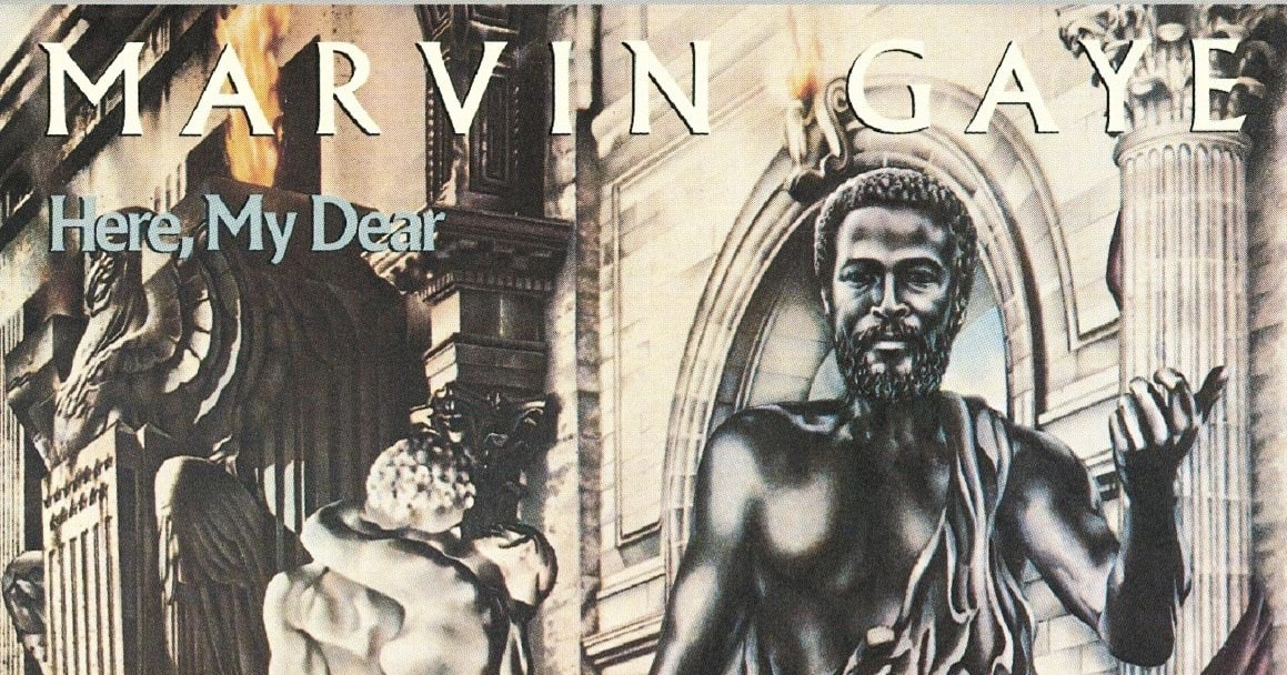 Marvin gay album cover, blowing fetish nose