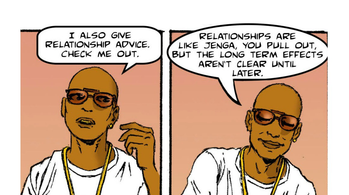 H afrocentric Comic Strip  YouTube Dating Advice
