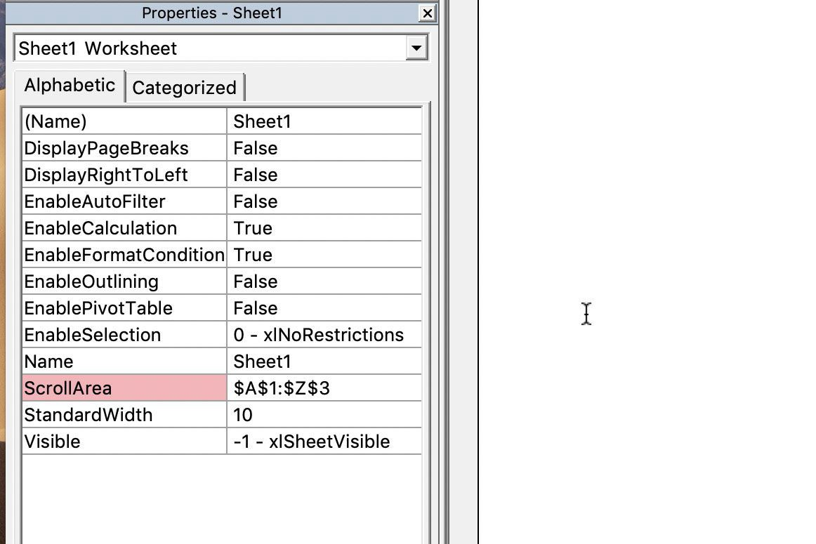 The most effective method to Limit Rows and Columns in an ...
