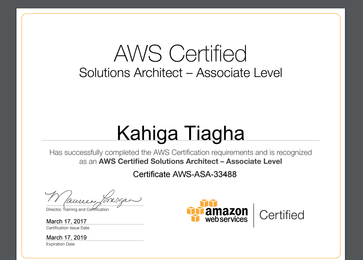 Crawl walk run my journey to becoming an aws certified run my journey to becoming an aws certified solutions architect associate xflitez Gallery