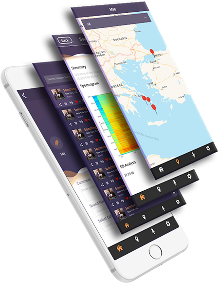 Sound Mapping App and Free Audio Editor App MapMySound