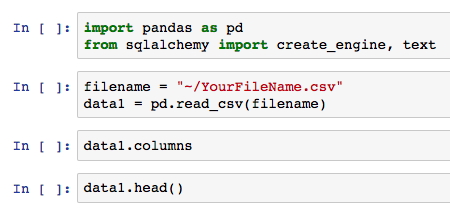 Install pandas mac brew | How To Install Python Package