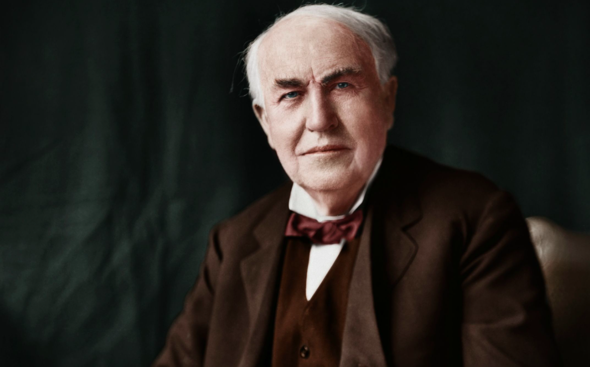 Image result for thomas alva edison