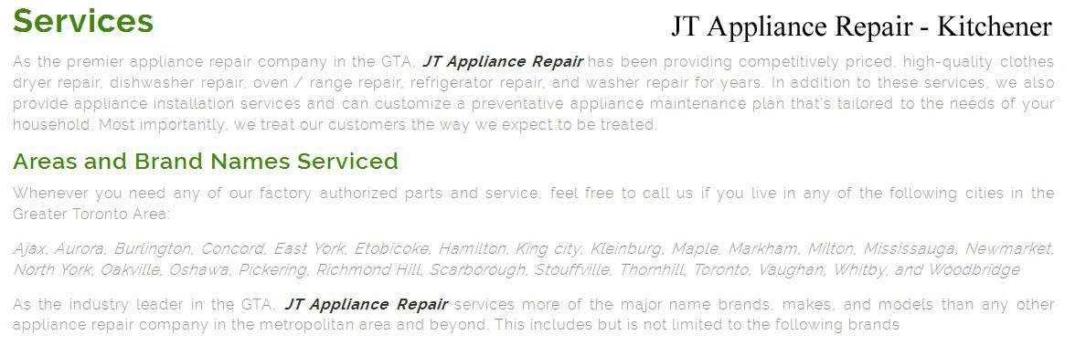 top appliance repair kitchener  u2014 jt appliance repair  519  957 u20132057  rh   medium com