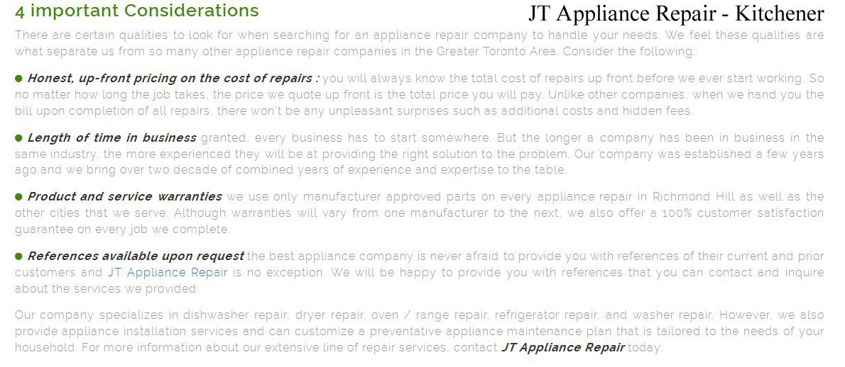 best appliance repair kitchener  u2014 jt appliance repair  519  957 u20132057  rh   medium com